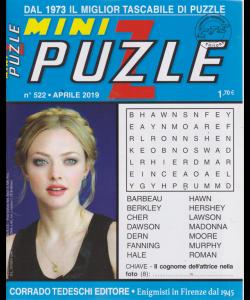 Minipuzzle - n. 522 - aprile 2019 - mensile