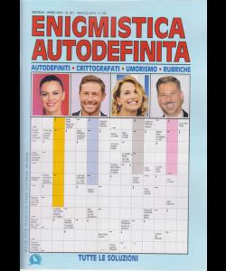Enigmistica Autodefinita - n. 351 - mensile - maggio 2019 -
