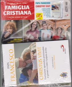 Famiglia cristiana + il libro Papa Francesco - Christus vivit - n. 15 - 14 aprile 2019 - settimanale - rivista + libro