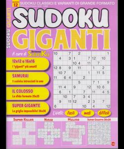 Sudoku Giganti - n. 12 - settembre - ottobre 2020 - bimestrale