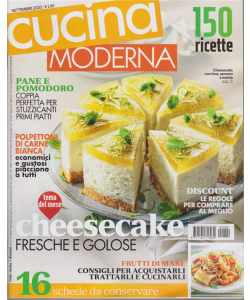Cucina Moderna - n. 9 - settembre 2020 - mensile