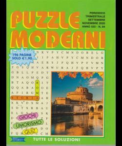 Puzzle Moderni - n. 84 - trimestrale - settembre - novembre 2020 - 196 pagine