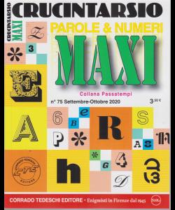 Maxi Crucintarsio - n. 75 - settembre - ottobre 2020 - trimestrale -