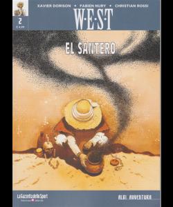 Albi Avventura - W-e-s-t- - El santero - n. 2 - settimanale