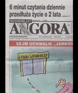 Angora - n. 15 - 8 - 14/4/2019 - in lingua polacca