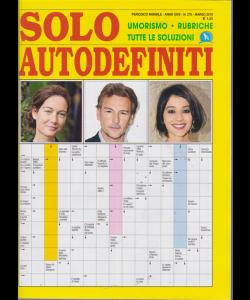Solo Autodefiniti - n. 275 - mensile - marzo 2019 -