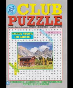 Club Puzzle - n. 278 - bimestrale - ottobre - novembre 2020 - 100 pagine - 120 giochi