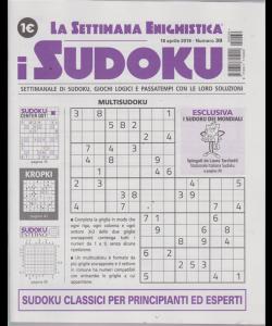 La settimana enigmistica - i sudoku - n. 39 - 18 aprile 2019 - settimanale