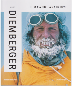 I grandi alpinisti - Kurt Diemberger  -n. 8 - settimanale -