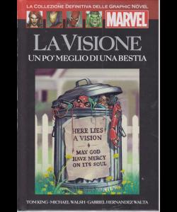 Graphic Novel Marvel - La Visione - Un pò meglio di una bestia - n. 18 - 20/4/2019 - quattordicinale - in copertina rigida