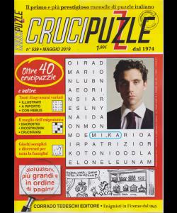 Crucipuzzle - n. 539 - maggio 2019 - mensile - oltre 40 crucipuzzle