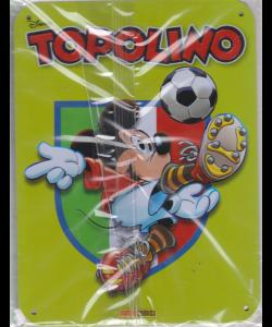 Disney 70 Anni Topolino - n. 3 - settimanale - 24 aprile 2019 - copertina in metallo