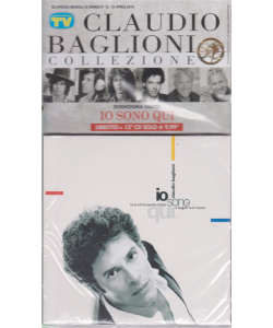Gli speciali musicali di Sorrisi - n. 12 - 23 aprile 2019 - Claudio Baglioni collezione - Dodicesima uscita - Io sono qui - libretto + 12° cd