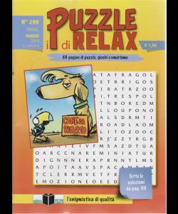 I Puzzle Di Relax - n. 299 - mensile - maggio 2019 -