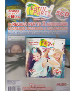 Music Service - Latin Party - Playa la Fe - rivista + 5 cd - n. 13 - bimestrale - 10/11/2020 -