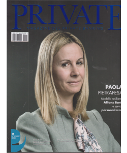 Private -  Magazine del private banking - n. 11 - novembre 2020 - mensile -