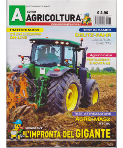 A Come Agricoltura - n. 64 - mensile - maggio 2019 -