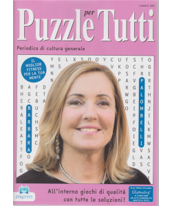 Puzzle X Tutti - n. 102 - bimestrale - 2/5/2019 - Barbara Palombelli