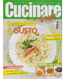 Cucinare Bene - n. 6 - giugno 2019 - mensile -