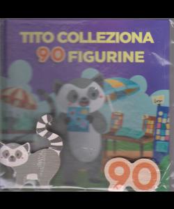 Impara con le lettere e gli animali - n. 60 - Tito colleziona 90 figurine - settimanale - copertina rigida