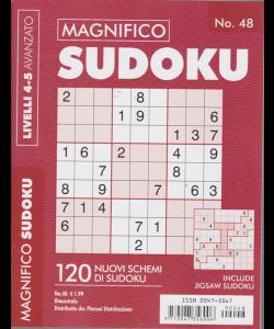 Magnifico Sudoku - n. 48 - bimestrale - livelli 4-5 avanzato -