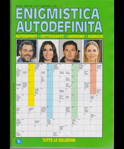 Enigmistica Autodefinita - n. 352 - mensile - giugno 2019 -