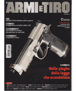 Armi E Tiro - n. 5 - maggio 2019 - mensile