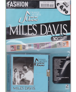 Music Fashion Var.31 - i grandi artisti jazz - Miles Davis - rivista + cd - 19 febbraio 2019 - n. 2 - bimestrale