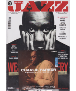 Musica Jazz - n. 822 - maggio 2019+ cd Charlie Parker