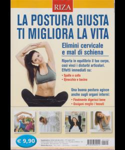 Salute naturale extra - La postura giusta ti migliora la vita - n. 120 - maggio 2019 -