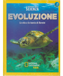 Le meraviglie della scienza - Evoluzione - La vita e la teoria di Darwin - n. 19 - settimanale - copertina rigida