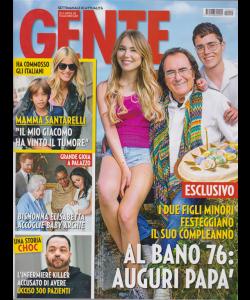Gente -n. 20 - 25/5/2019 - settimanale