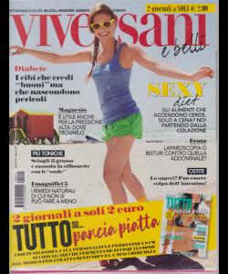 Viversani e belli - n. 2 - 17/5/2019 - settimanale  + Tutto su....pancia piatta  - 2 riviste