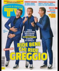 Sorrisi E Canzoni Tv - n. 20 - 21 maggio 2019 - settimanale