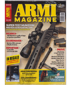 Armi Magazine - Catalogo Regina - n. 6 - mensile - giugno 2019