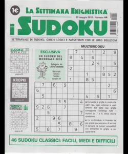 La settimana enigmistica - i sudoku - n. 44 - 23 maggio 2019 -