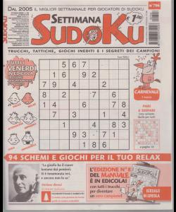 Settimana Sudoku - n. 706 - settimanale - 22 febbraio 2019 -