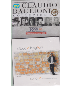 Gli speciali musicali di Sorrisi n. 17 - 28 maggio 2019 - Claudio Baglioni collezione - - Sono io - l'uomo della della storia accanto -  libretto + cd