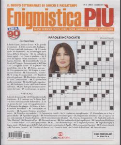 Enigmistica Piu' - n. 22 - 5 giugno 2019 - settimanale