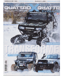 Quattroxquattro evolution - n. 24 - bimestrale - febbraio - marzo 2019 -