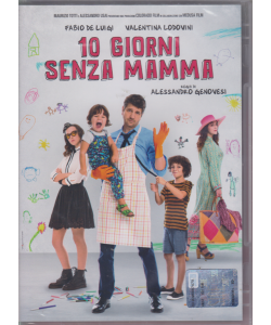 I Dvd Cinema Di Sorrisi n. 18 - 10 Giorni Senza Mamma - settimanale - giugno 2019