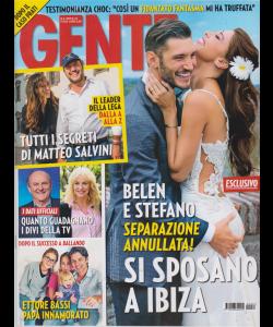 Gente - n. 22 - 8/6/2019 - settimanale