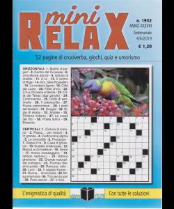 Mini Relax - n. 1932 - settimanale - 4/6/2019