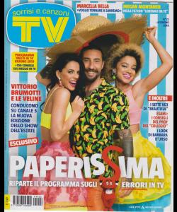 Sorrisi E Canzoni Tv - n. 22 - 4 giugno 2019 - settimanale