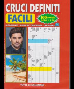Cruci Definiti Facili - n. 72 - bimestrale - luglio - agosto 2019 - 100 pagine