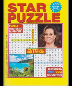 Star Puzzle - n. 302 - bimestrale - luglio - agosto 2019 - 100 pagine