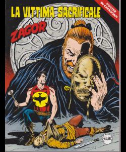 Zagor - La Vittima Sacrificale - n. 698 - mensile - giugno 2019 -