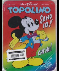 Disney 70 Anni Topolino Pocket - n. 1712 - copertina in metallo - settimanale - 12 giugno 2019 -