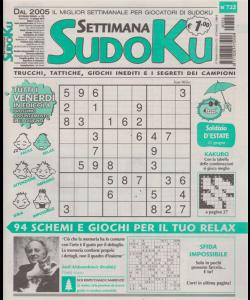 Settimana Sudoku - n. 722 - settimanale - 14 giugno 2019 -