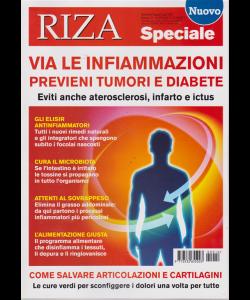 Riza Speciale - Via Le Infiammazioni - n. 12 - bimestrale - giugno - luglio 2019 -